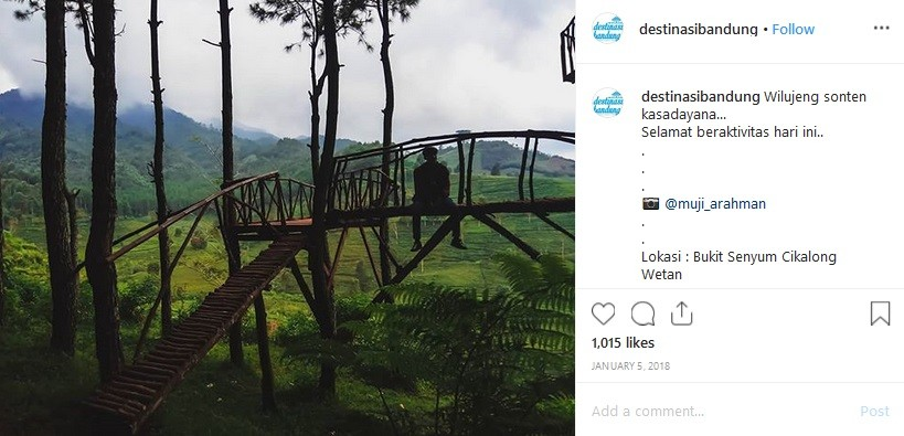 5 Tempat Wisata Kekinian Di Bandung Ada Bukit Senyum Hingga Kampung Korea