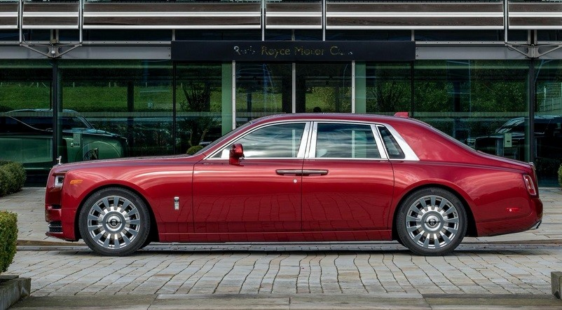 Rolls Royce Phantom Red Special Edition