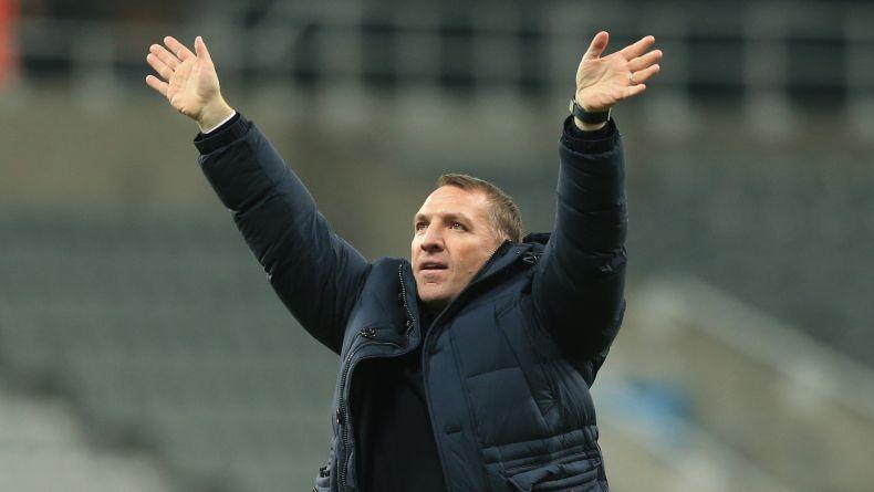Pelatih Leicester City Brendan Rodgers. (Foto: AFP)