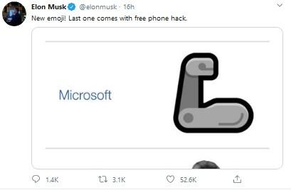Tweet Elon Musk yang Menyindir WhatsApp (Foto: Twitter)