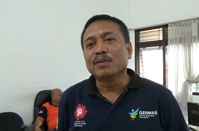 Camat Kaliwates Asrah Joyo Widono, Sabtu (15/2/2020) (Foto:iNews/Bambang Sugiarto)