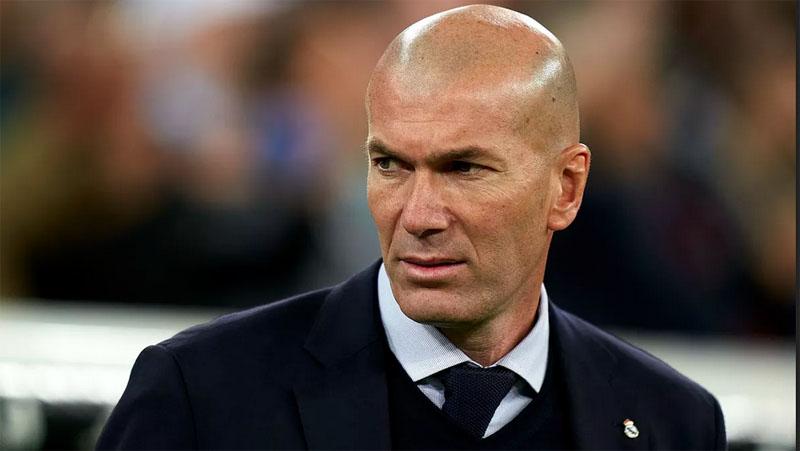Pelatih Real Madrid Zinedine Zidane. (Foto: managingmadrid)