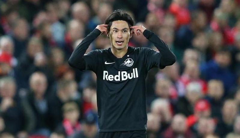 Takumi Minamino memperkuat Salzburg dari 2015-2020 (Foto: Sky Sports)