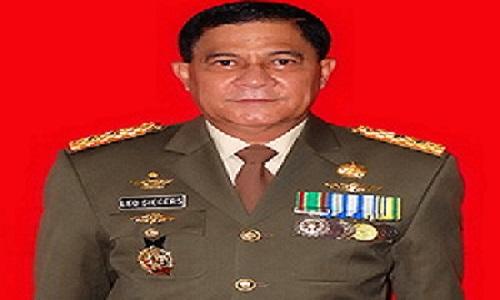 Mayjen TNI (Purn) Leonardus JP Siegers diangkat menjadi staf khusus PSSI