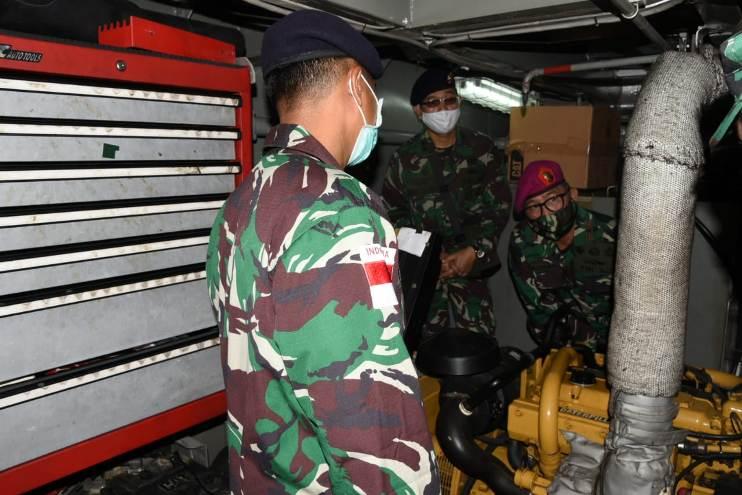 Danlantamal Sidak Kapal AL Pulau Karakelang II-8-3