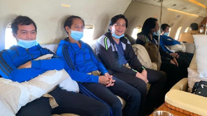 Pemerintah Indonesia membebaskan 3 warga negara Indonesia (WNI) yang diculik bajak laut di perairan Gabon. (Foto: Antara).