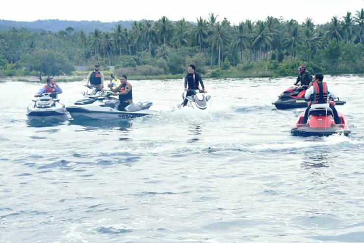 Kunjungan Menteri Kelautan dan Perikanan Di Sulut