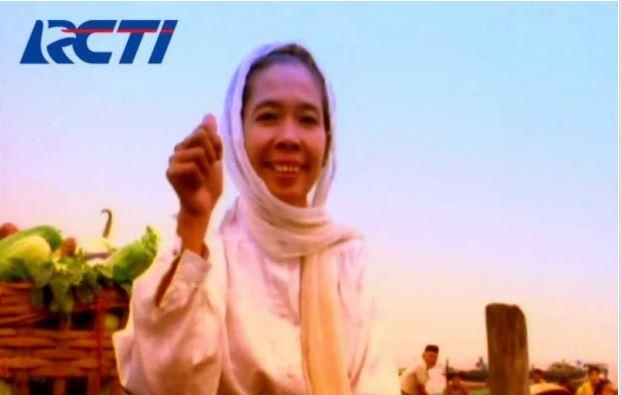 Sosok legendaris iklan RCTI, Hj Noor Parida (Foto Ist).