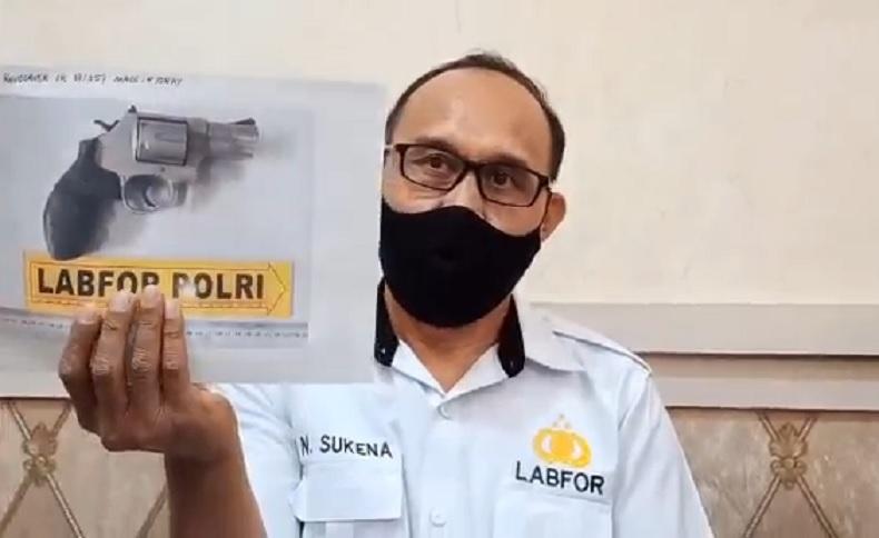 Polda Bali merilis hasil pemeriksaan Labfor Polri kasus kematian Tri Nugraha. (iNews.id/Aris Wiyanto)