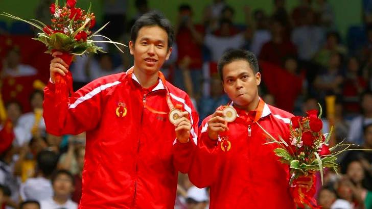 Hendra Setiawan/Markis Kido – Olimpiade Beijing 2008 (AFP)