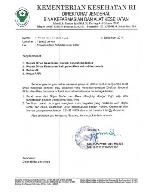 Surat Dinas1