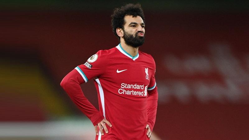 Winger Liverpool Mohamed Salah diharapkan bisa membantu timnya melibas Leicester City pada pekan ke-24 Liga Inggris 2020/2021 di King Power Stadium, Sabtu (13/2/2021) malam WIB. (Foto: REUTERS)