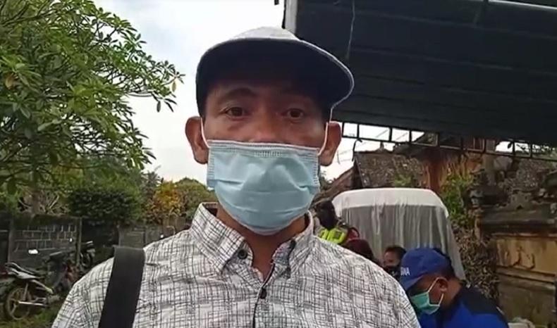 Kepala Dusun Magatelu I Made Suardana. (Foto: iNews/Yunda Ariesta)