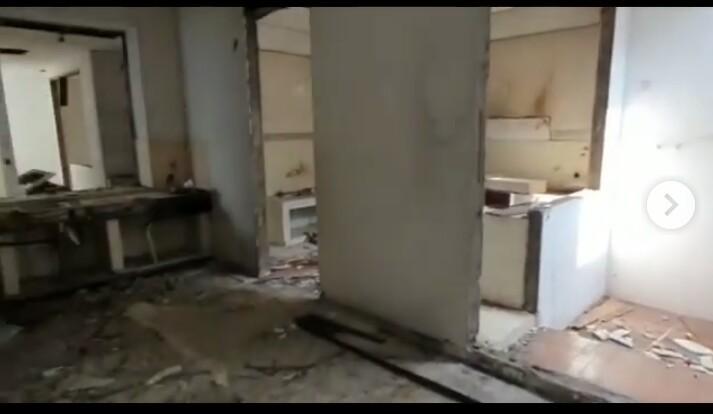 Rumah Setelah dibongkar (Foto: Istimewa)