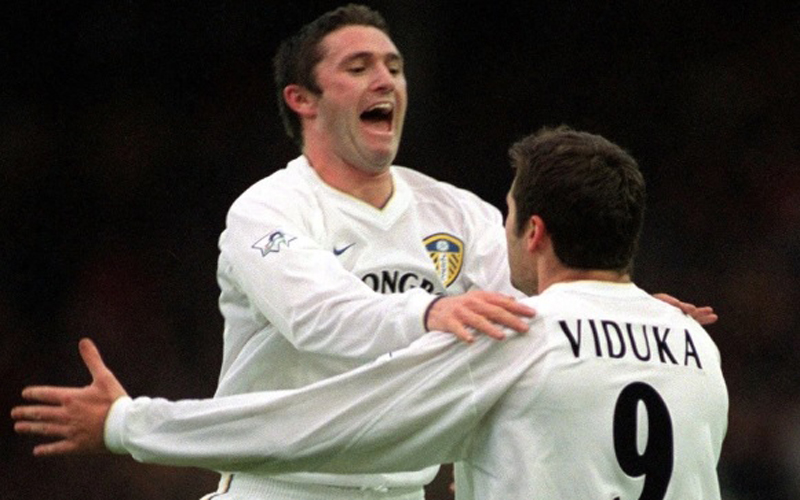 Robbie Keane saat di Leeds United. (Foto: The Sun)