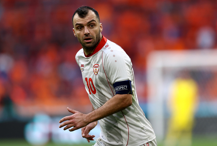 Striker Makedonia Utara Goran Pandev. (Foto: Reuters)