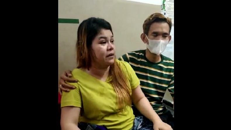 Video pengakuan korban penamparan Satpol PP. (Foto: Istimewa).