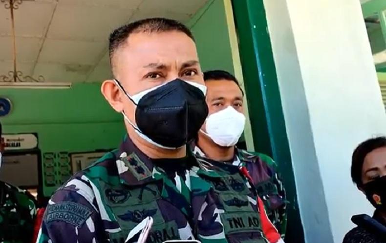 Dandim Buleleng Letkol Muhammad Windra Lisrianto. (Foto: iNews/Pande Wismaya)