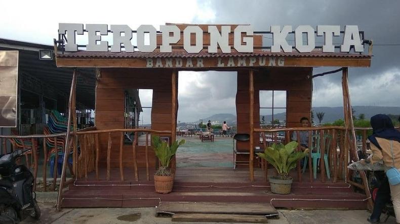 Tempat Wisata di Bandar Lampung Teropong Kota Bukit Sindy (Instagram)