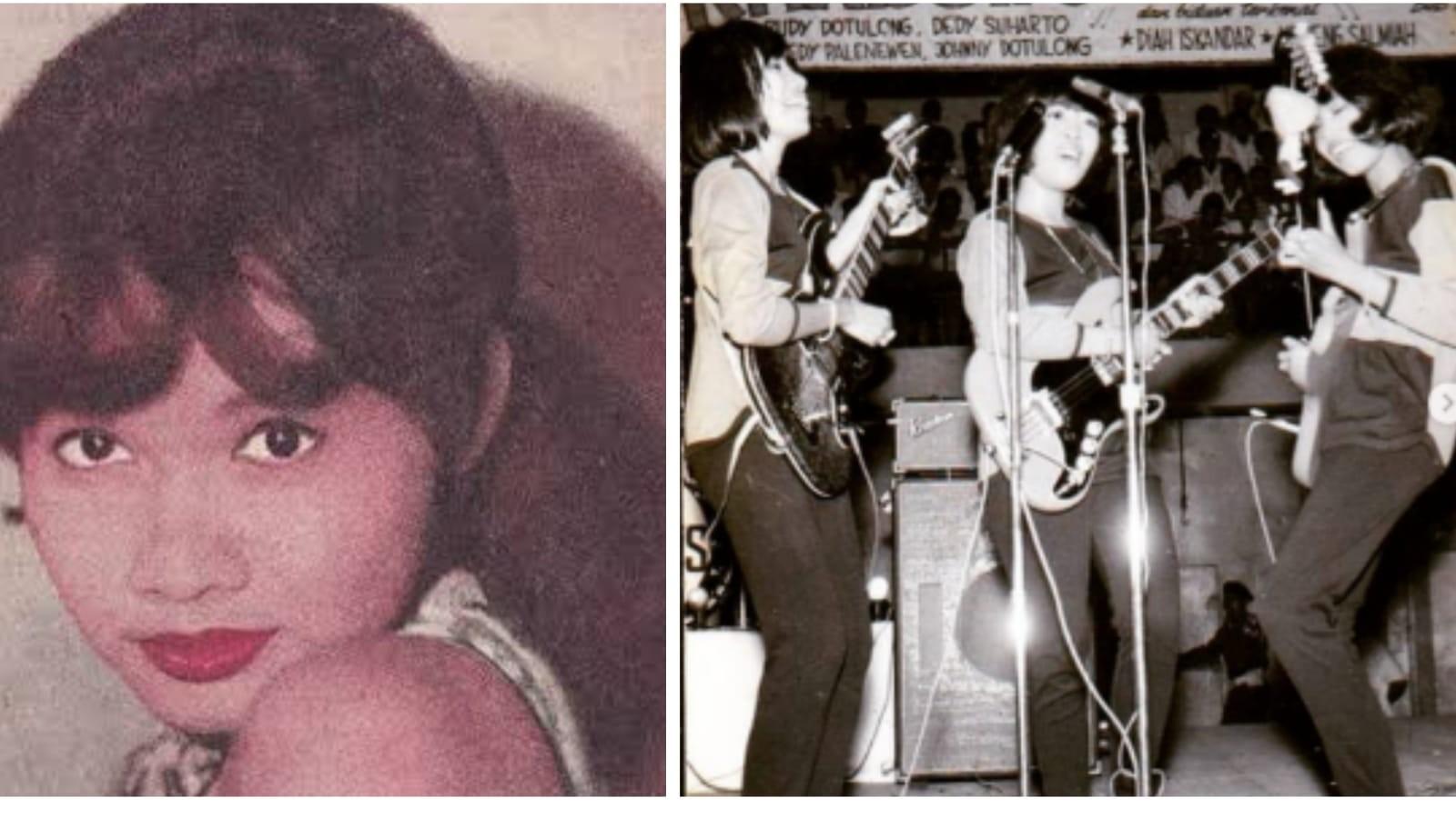 Diah Iskandar dikenal sebagai putri dari musisi ternama yang terkenal era 1960-an. (Foto: Instagram)