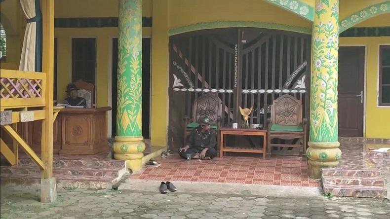 Kerjaan Angling Dharma Pandeglang (Foto: iNews/Iskandar Nasution).