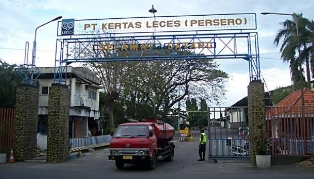 PT Kertas Leces (Persero). (Foto: Istimewa)