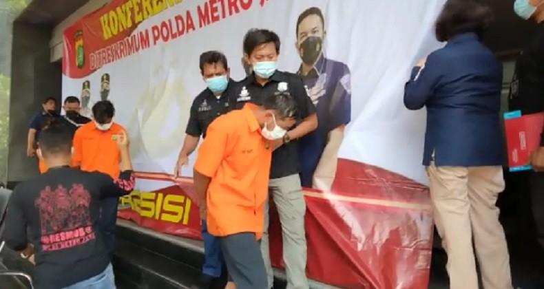 Pelaku penembakan di Tangerang (Foto: Erfan Ma'ruf)