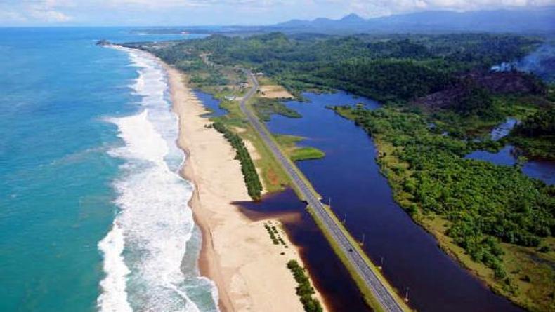 Tempat wisata di Aceh Jaya, Pantai Kuala Merisi (Twitter)