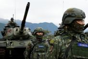 Tegang dengan China, Taiwan Latihan Militer Besar-Besaran