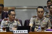 Kapolri Raker dengan DPR Bahas Pengamanan Pilkada 2018