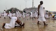 Foto Jutaan Jamaah Haji Berkumpul di Padang Arafah untuk Wukuf