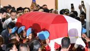 Jenazah BJ Habibie Disemayamkan di Rumah Duka Patra Kuningan