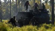 Begini Cara Marinir TNI AL Kuasai Daerah Musuh dengan Roket RM 70 Vampir