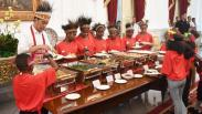 Penuhi Janji, Presiden Jokowi Ajak Anak-Anak Papua ke Istana Merdeka