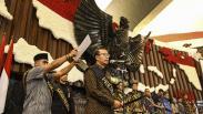 Suasana Gladi Kotor Pelantikan Presiden dan Wakil Presiden