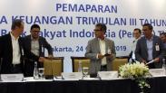 Kuartal III 2019, Laba Bersih BRI Rp24,78 Triliun