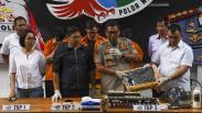 Penampakan Cairan Vape Mengandung Tembakau Gorila Disita Polisi