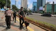 PSBB Berlaku di Jakarta, Polisi Tingkatkan Patroli Keamanan