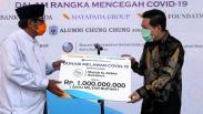 Bantu Masyarakat Terdampak Covid-19 di Surabaya, Mayapada Group Serahkan Donasi Rp2 M