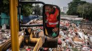 Sampah Jakarta Turun 620 Ton per Hari Selama Penerapan WFH