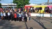 Penumpang Menumpuk di Stasiun Bogor, Tidak Ada Physical Distancing