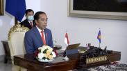Presiden Jokowi Ikuti KTT ASEAN secara Virtual di Istana Bogor
