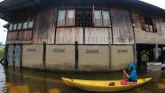Banjir akibat Luapan Sungai Batanghari di Jambi Semakin Meluas