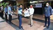 BTN Bagikan Paket Sembako dan Alat Kesehatan kepada Ratusan Pegawai