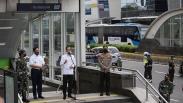 Presiden Jokowi Cek Kesiapan New Normal di Stasiun MRT Bundaran HI