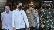 Presiden Jokowi Tinjau Persiapan Prosedur New Normal di Mal Bekasi