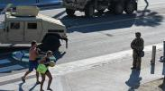 Dijaga Pasukan Garda Nasional, Begini Suasana Jalanan di Amerika Serikat