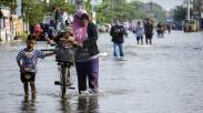 Banjir Rob Rendam Permukiman di Pekalongan, 7.700 Kepala Keluarga Terkena Dampak