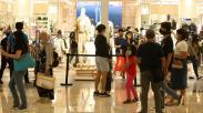 Promo Diskon hingga 70 Persen, Mal Kota Kasablanka Ramai Pengunjung