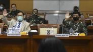 Menhan Prabowo dan Panglima TNI Ikuti Rapat Bahas Ancaman Keamanan di Indonesia